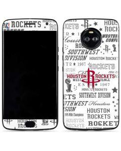 Houston Rockets Historic Blast Moto X4 Skin