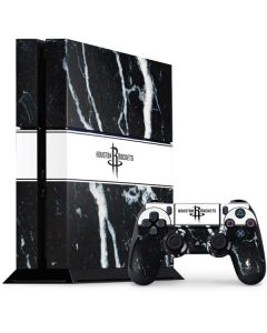 Houston Rockets Marble PS4 Console and Controller Bundle Skin