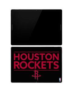 Houston Rockets Standard - Black Google Pixel Slate Skin