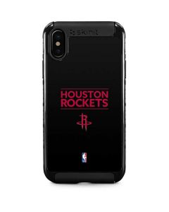 Houston Rockets Standard - Black iPhone XS Max Cargo Case