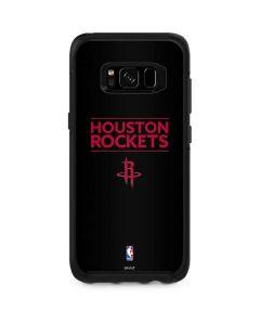 Houston Rockets Standard - Black Otterbox Symmetry Galaxy Skin
