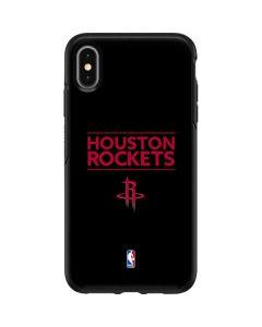 Houston Rockets Standard - Black Otterbox Symmetry iPhone Skin