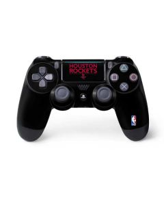 Houston Rockets Standard - Black PS4 Pro/Slim Controller Skin