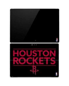 Houston Rockets Standard - Black Surface Pro 4 Skin