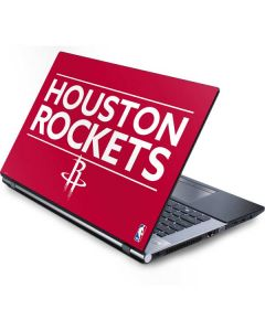 Houston Rockets Standard - Red Generic Laptop Skin