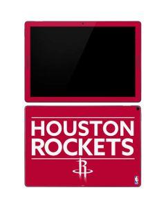 Houston Rockets Standard - Red Google Pixel Slate Skin