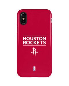 Houston Rockets Standard - Red iPhone X Pro Case