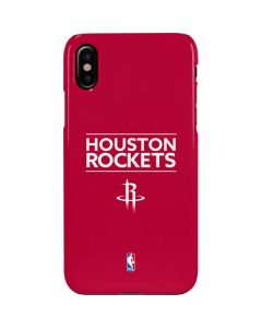 Houston Rockets Standard - Red iPhone XS Lite Case