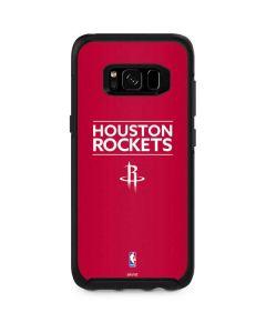 Houston Rockets Standard - Red Otterbox Symmetry Galaxy Skin