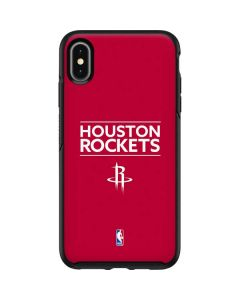 Houston Rockets Standard - Red Otterbox Symmetry iPhone Skin