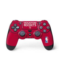 Houston Rockets Standard - Red PS4 Controller Skin
