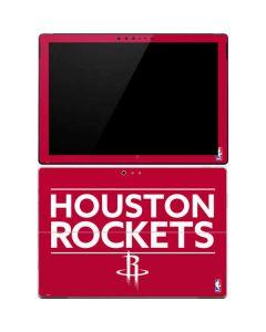 Houston Rockets Standard - Red Surface Pro 4 Skin