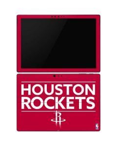 Houston Rockets Standard - Red Surface Pro 6 Skin