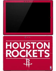 Houston Rockets Standard - Red Surface Pro (2017) Skin