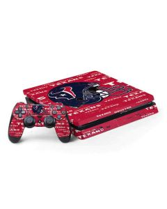 Houston Texans - Blast PS4 Slim Bundle Skin