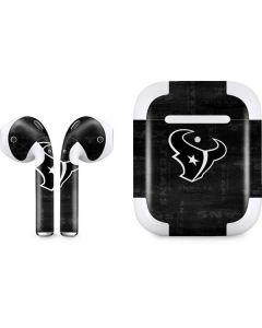 Houston Texans Black & White Apple AirPods 2 Skin