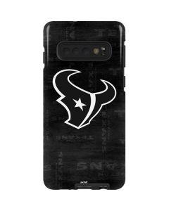 Houston Texans Black & White Galaxy S10 Pro Case