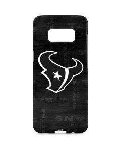 Houston Texans Black & White Galaxy S8 Plus Lite Case