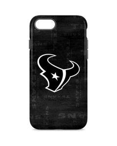 Houston Texans Black & White iPhone 8 Pro Case