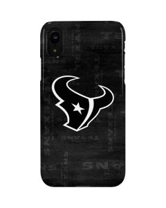 Houston Texans Black & White iPhone XR Lite Case