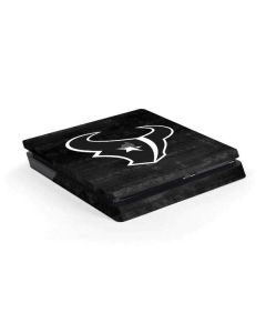 Houston Texans Black & White PS4 Slim Skin