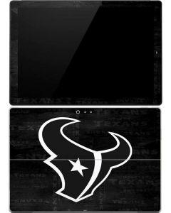 Houston Texans Black & White Surface Pro 4 Skin