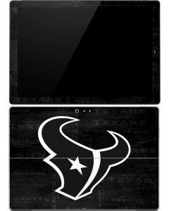 Houston Texans Black & White Surface Pro (2017) Skin