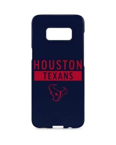 Houston Texans Blue Performance Series Galaxy S8 Plus Lite Case