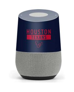 Houston Texans Blue Performance Series Google Home Skin