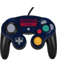 Houston Texans Blue Performance Series Nintendo GameCube Controller Skin