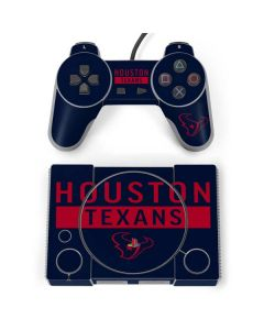 Houston Texans Blue Performance Series PlayStation Classic Bundle Skin