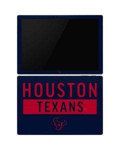Houston Texans Blue Performance Series Surface Pro 6 Skin