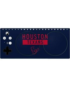 Houston Texans Blue Performance Series Xbox Adaptive Controller Skin