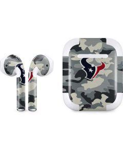 Houston Texans Camo Apple AirPods 2 Skin