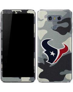 Houston Texans Camo LG G6 Skin