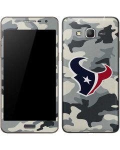 Houston Texans Camo Galaxy Grand Prime Skin
