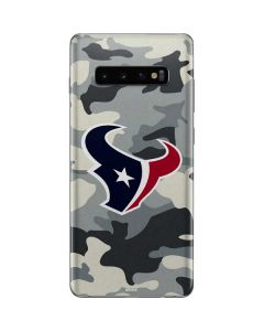 Houston Texans Camo Galaxy S10 Plus Skin