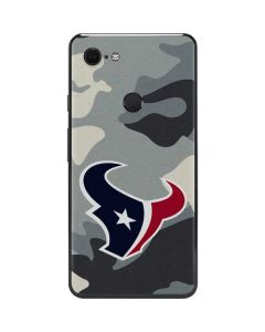 Houston Texans Camo Google Pixel 3 XL Skin