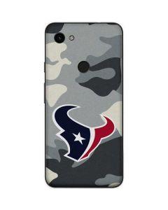 Houston Texans Camo Google Pixel 3a Skin