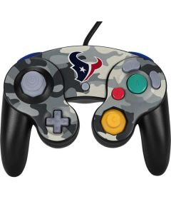 Houston Texans Camo Nintendo GameCube Controller Skin