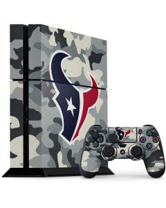 Houston Texans Camo PS4 Console and Controller Bundle Skin