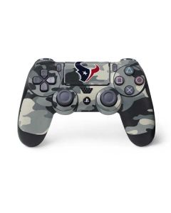 Houston Texans Camo PS4 Controller Skin