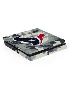 Houston Texans Camo PS4 Slim Skin