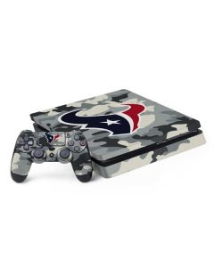 Houston Texans Camo PS4 Slim Bundle Skin