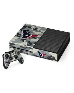 Houston Texans Camo Xbox One Console and Controller Bundle Skin