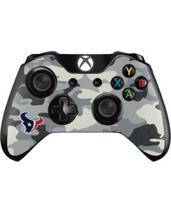 Houston Texans Camo Xbox One Controller Skin