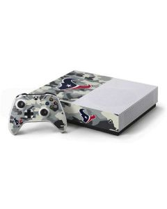 Houston Texans Camo Xbox One S All-Digital Edition Bundle Skin