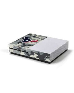 Houston Texans Camo Xbox One S Console Skin