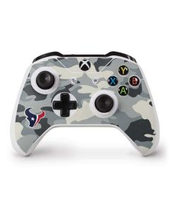 Houston Texans Camo Xbox One S Controller Skin