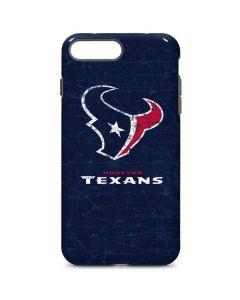 Houston Texans Distressed iPhone 8 Plus Pro Case